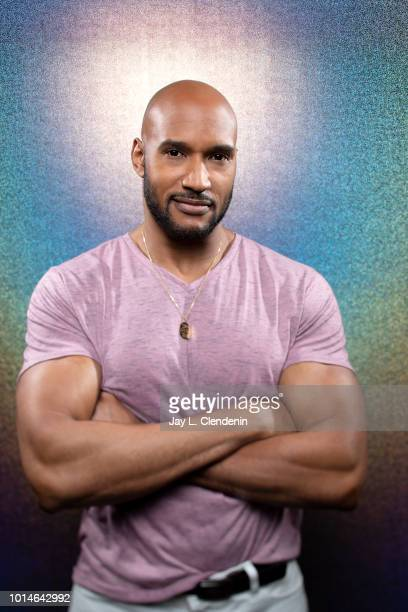 Actor Henry Simmons from 'Agents of SHIELD' is photographed for Los Angeles Times on July 21 2018 in San Diego California PUBLISHED IMAGE CREDIT MUST...