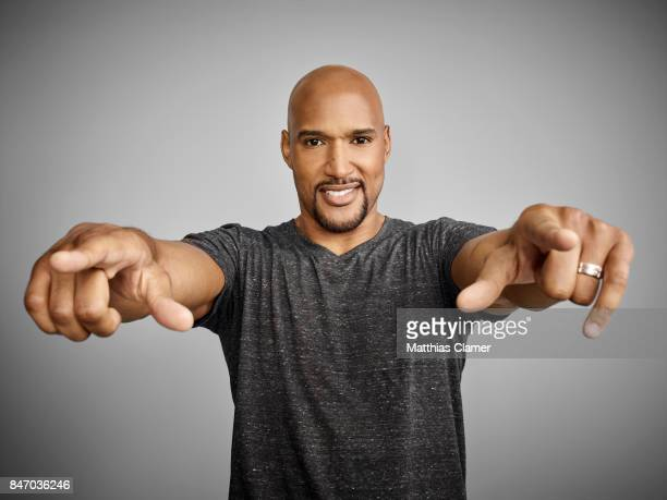 Actor Henry Simmons from 'Marvel's Agents of SHIELD' is photographed for Entertainment Weekly Magazine on July 23 2016 at Comic Con in the Hard Rock...