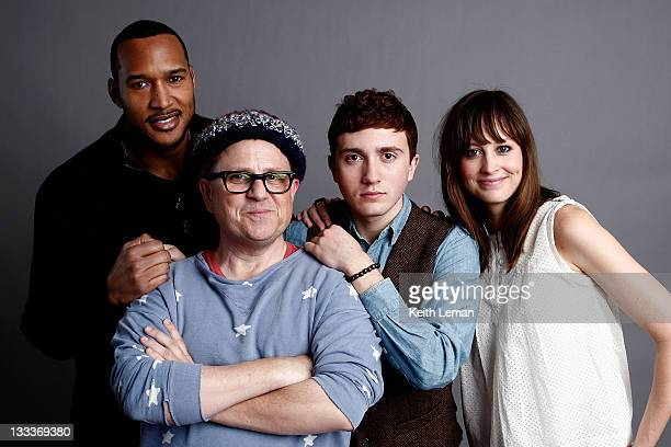 Actor Henry Simmons writer/director Bob Goldthwait actor Daryl Sabara and actress Alexie Gilmore pose for a portrait during the 2009 Sundance Film...