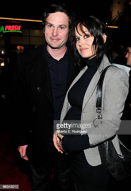 """Actor Henry Thomas and wife actress Marie Zielcke arrive at the premiere of Screen Gem's """"Dear John"""" at Grauman's Chinese Theater on February 1, 2010..."""