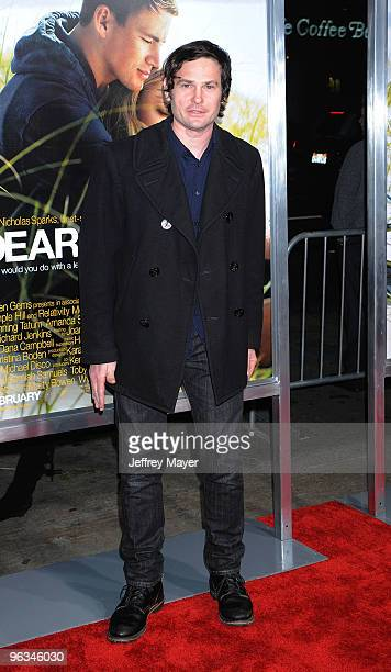 Actor Henry Thomas arrives at the Dear John Premiere at Grauman's Chinese Theatre on February 1 2010 in Hollywood California