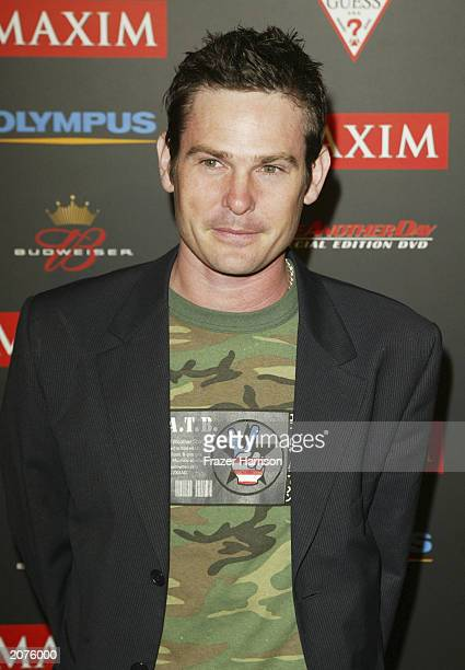 Actor Henry Thomas arrives at the Maxim Hot 100 party held in Hollywood on June 11 2003 Hollywood California