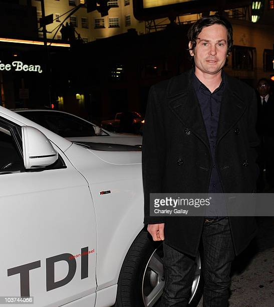 Actor Henry Thomas arrives in an Audi TDI at the Dear John premiere at Grauman's Chinese Theatre on February 1 2010 in Hollywood California