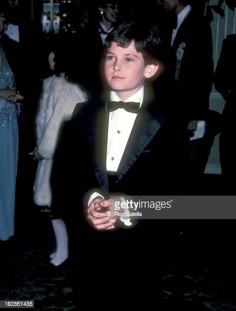Actor Henry Thomas attends the 40th Annual Golden Globe Awards on January 29, 1983 at Beverly Hilton Hotel in Beverly Hills, California.