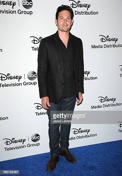 Actor Henry Thomas attends the Disney Media Networks International Upfronts at Walt Disney Studios on May 19 2013 in Burbank California