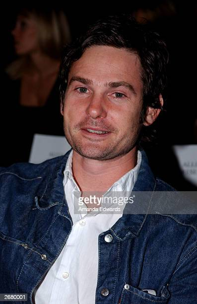 Actor Henry Thomas attends the Jenni Kayne Fashion Show during the MercedesBenz Shows LA 2004 Spring Collection at The Club in the Standard Hotel...