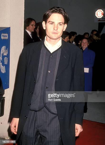 Actor Henry Thomas attends the Little Women Culver City Premiere on December 11 1994 at Mann Culver Plaza 6 Theatres in Culver City California