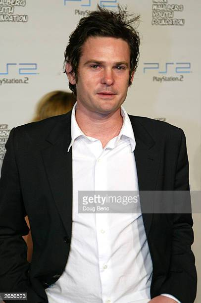 Actor Henry Thomas attends the Playstation 2 Triple Double Celebrity Gaming Tournament on October 25 2003 in Hollywood California