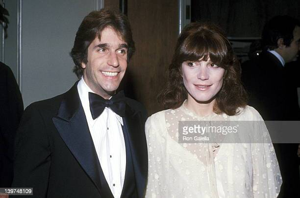 Actor Henry Winkler and wife Stacey Weitzman attend the Sixth Annual American Film Institute Lifetime Achievement Award Salute to Henry Fonda on...