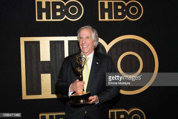 Actor Henry Winkler arrives at HBO's Post Emmy Awards Reception at the Plaza at the Pacific Design Center on September 17 2018 in Los Angeles...
