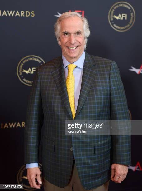 Actor Henry Winkler attends the 19th Annual AFI Awards at Four Seasons Hotel Los Angeles at Beverly Hills on January 4 2019 in Los Angeles California