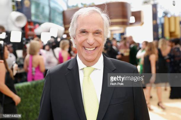 Actor Henry Winkler attends the 70th Annual Primetime Emmy Awards at Microsoft Theater on September 17 2018 in Los Angeles California