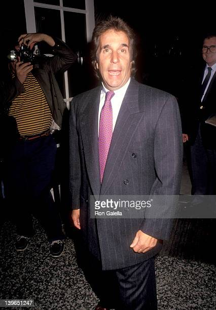 Actor Henry Winkler attends the Fifth Annual Genesis Awards on February 3, 1991 at Beverly Wilshire Hotel in Beverly Hills, California.