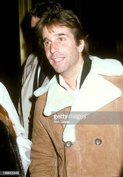 """Actor Henry Winkler attends the """"Night of 100 Stars"""" Rehearsals on February 13, 1982 at Radio City Music Hall in New York City, New York."""