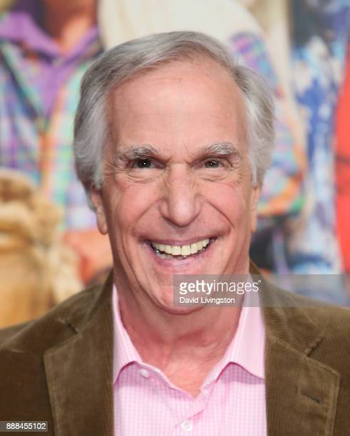 Actor Henry Winkler attends the premiere of NBC's Better Late Than Never at Universal Studios Hollywood on November 29 2017 in Universal City...
