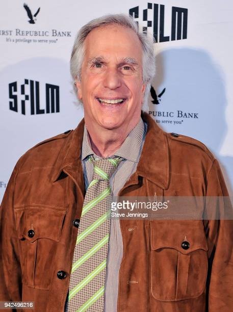 Actor Henry Winkler attends the San Francisco Film Festival Premiere of 'Barry' at Victoria Theatre on April 5 2018 in San Francisco California