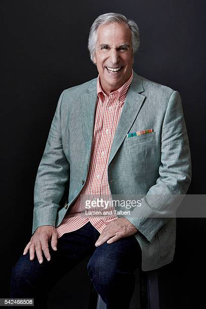 Actor Henry Winkler is photographed for Entertainment Weekly Magazine at the ATX Television Fesitval on June 10 2016 in Austin Texas