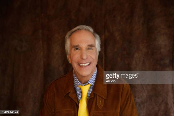 Actor Henry Winkler is photographed for Los Angeles Times on February 6 2018 in Los Angeles California PUBLISHED IMAGE CREDIT MUST READ Al Seib/Los...