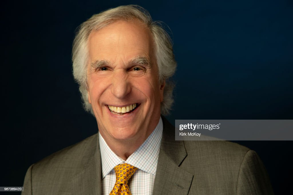 Henry Winkler, Los Angeles Times, May 7, 2018 : News Photo