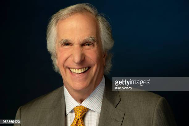 Actor Henry Winkler is photographed for Los Angeles Times on May 3 2018 in Los Angeles California PUBLISHED IMAGE CREDIT MUST READ Kirk McKoy/Los...