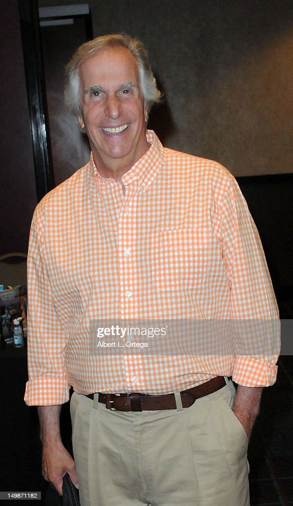 Actor Henry Winkler participates in The Hollywood Show held at Burbank Airport Marriott Hotel & Convention Center on August 5, 2012 in Burbank, California.