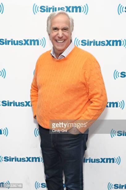 Actor Henry Winkler visits the SiriusXM Studios on April 1 2019 in New York City