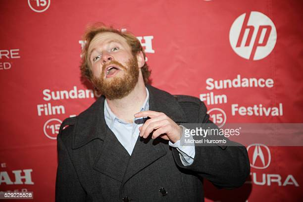 """Actor Henry Zebrowski attends """"The D Train"""" premiere at the 2015 Sundance Film Festival"""