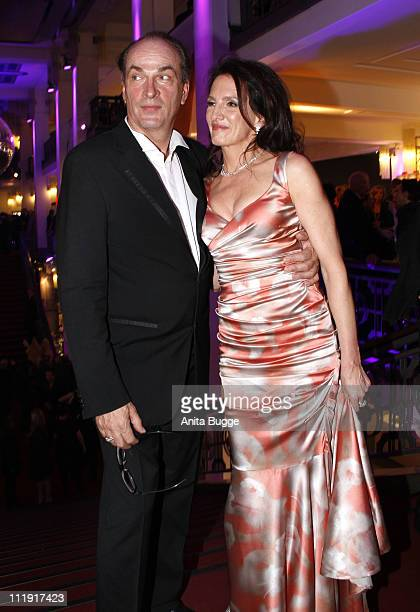 Actor Herbert Knaup and his wife Christiane Knaup attend the Deutscher Filmpreis after party at Friedrichstadtpalast on April 8 2011 in Berlin Germany