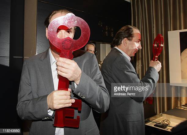 Actor Herbert Knaup attends the Montblanc boutique reopening at the Friedrichstrasse on April 28 2011 in Berlin Germany