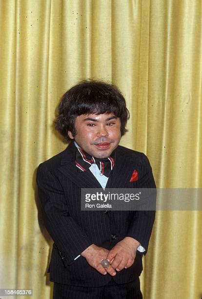Actor Herve Villechaize attending 36th Annual Golden Globe Awards on January 27 1979 at the Beverly Hilton Hotel in Beverly Hills California