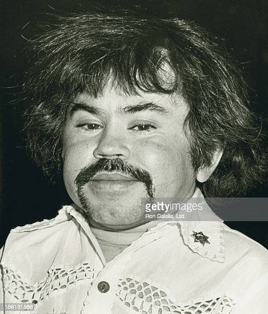 Actor Herve Villechaize attending 'Celebrity Art Auction for Abused Children' on May 4 1984 at the Upstairs Gallery in Beverly Hills California