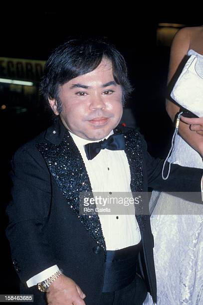 Actor Herve Villechaize attending Party for 38th Annual Primetime Emmy Awards on September 21 1986 at Spago Restaurant in West Hollywood California