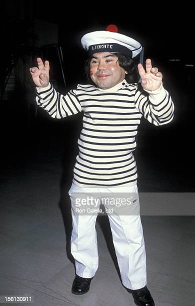 Actor Herve Villechaize attending Sixth Annual Benefti Gala for Hathaway Home For Children on February 25 1984 at the Biltmore Hotel in Los Angeles...