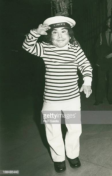 Actor Herve Villechaize attending Sixth Annual Hathaway Home For Children Benefit on February 25 1984