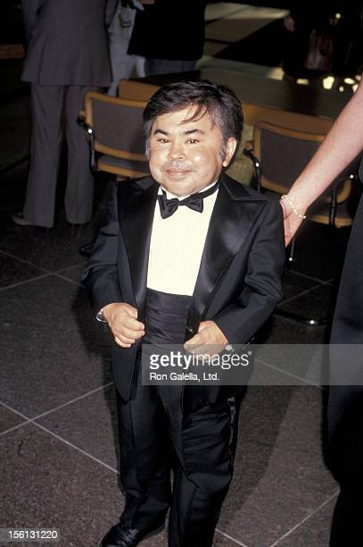 Actor Herve Villechaize attending the premiere of 'Licence To Kill' on July 10 1989 at the Director's Guild Theater in Hollywood California