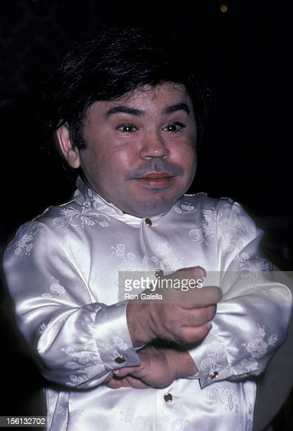 Actor Herve Villechaize attending Third Annual Media Awards 'Changing Attitudes' on January 22 1981 at the Beverly Hilton Hotel in Beverly Hills...