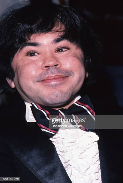 Actor Herve Villechaize attends an event in December 1981 in Los Angeles California