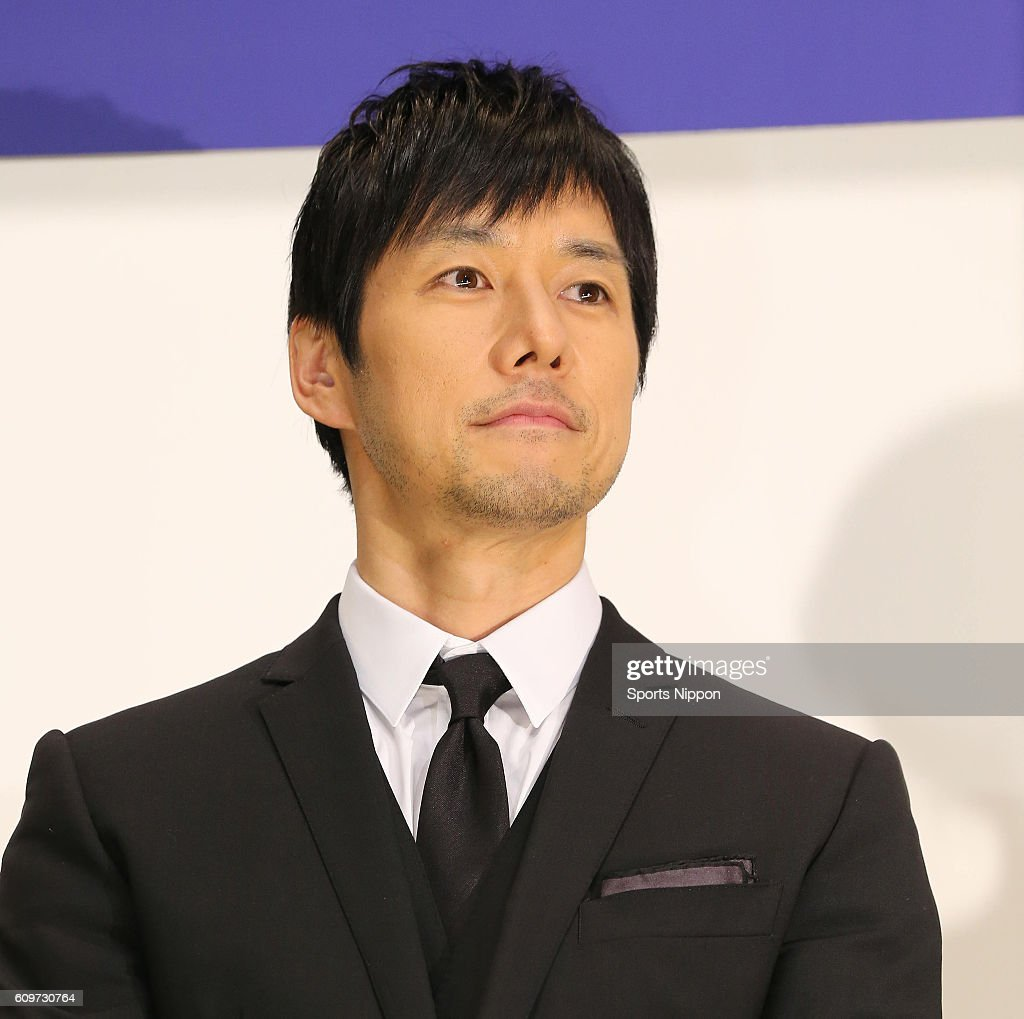 Hidetoshi Nishijima Attends Opening Day Stage Greeting In Tokyo : News Photo