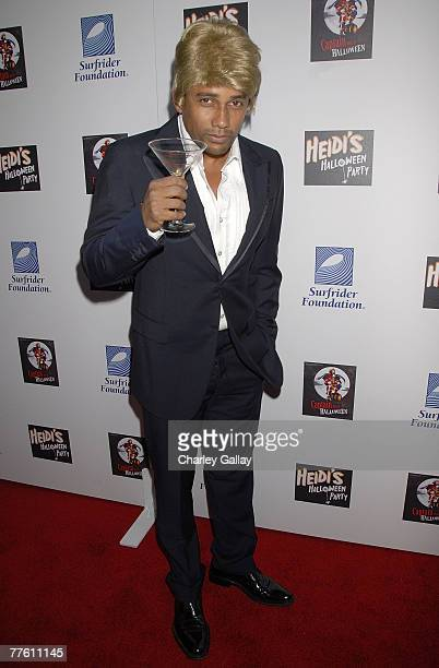 Actor Hill Harper attends Heidi Klum's 8th Annual Halloween Party at The Green Door on October 31, 2007 in Los Angeles, California.