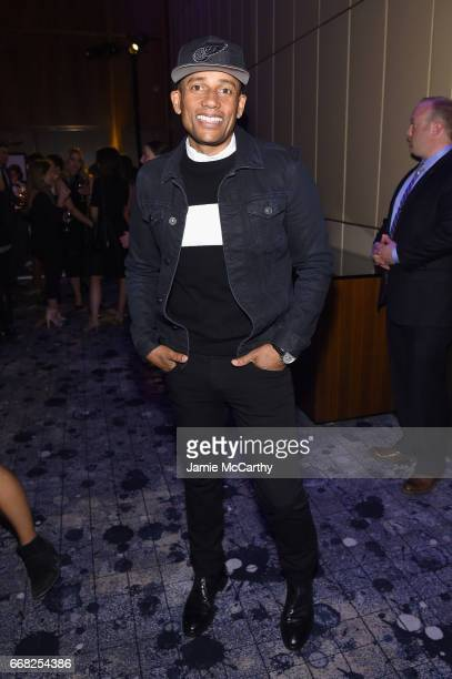 Actor Hill Harper attends The Hollywood Reporter 35 Most Powerful People In Media 2017 at The Pool on April 13 2017 in New York City