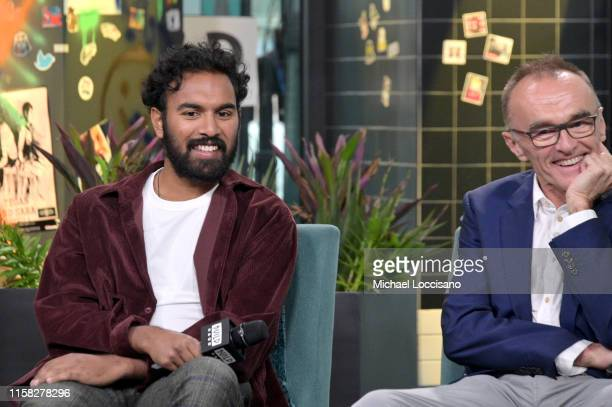 Actor Himesh Patel and director Danny Boyle visit Build to discuss the movie Yesterday at Build Studio on June 25 2019 in New York City