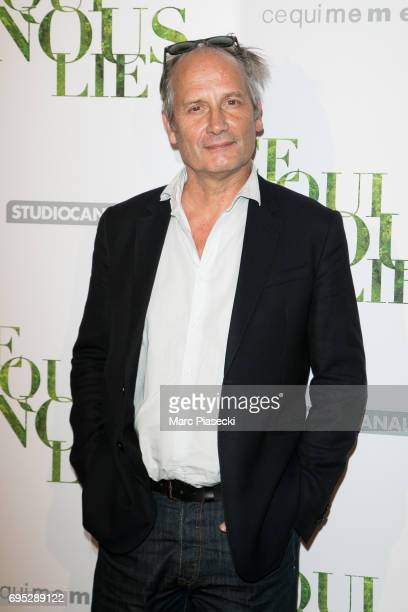 Actor Hippolyte Girardot attends 'Ce qui Nous Lie' Premiere on June 12 2017 in Paris France
