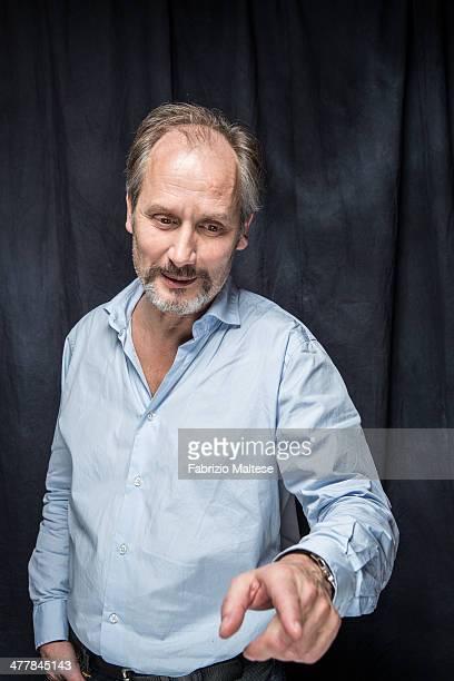 Actor Hippolyte Girardot is photographed for Self Assignment on February 11 2014 in Berlin Germany