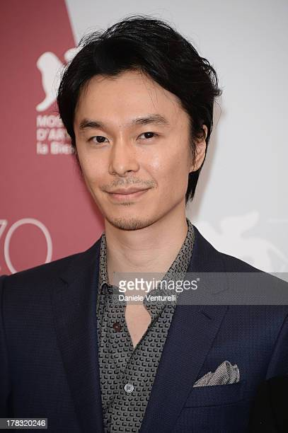 Actor Hiroki Hasegawa attends 'Why Don't You Play In Hell' Photocall during the 70th Venice International Film Festival at Palazzo del Casino on...
