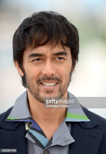 """Actor Hiroshi Abe attends the """"After The Storm"""" photocall during the 69th Annual Cannes Film Festival at the Palais des Festivals on May 18, 2016 in..."""