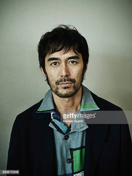Actor Hiroshi Abe is photographed for Self Assignment on May 18, 2016 in Cannes, France.
