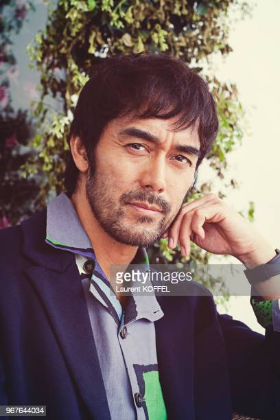 Actor Hiroshi Abe poses during a portrait session on May 18, 2016 in Cannes, France.