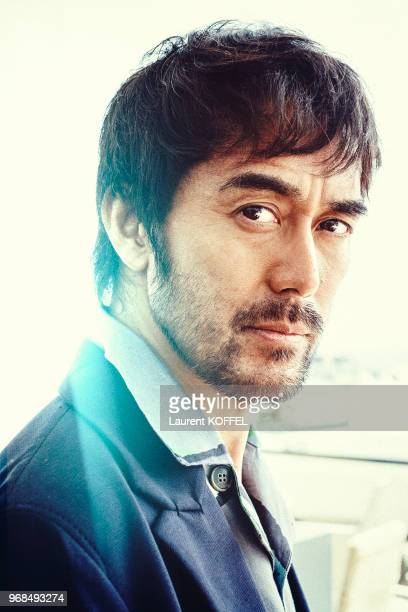 Actor Hiroshi Abe poses during a portrait session on May 18 2016 in Cannes France