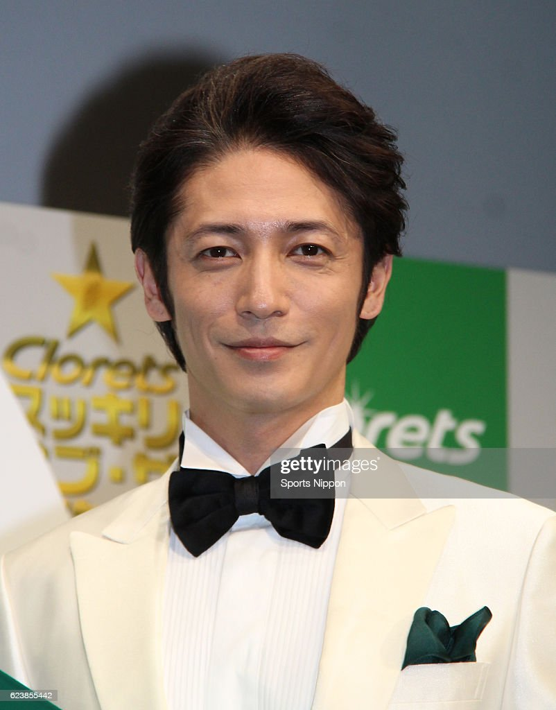 Hiroshi Tamaki Attends Awards Ceremony In Tokyo : ニュース写真