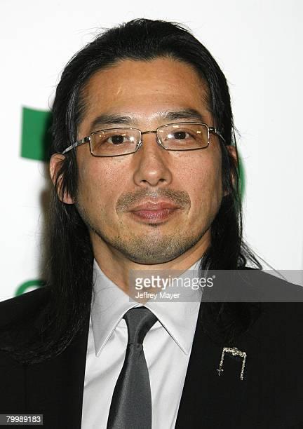 Actor Hiroyuki Sanada arrives at Global Green USA 5th preOscar Party held at Avalon on February 20 2008 in Hollywood California